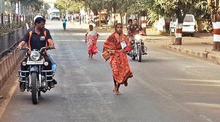 68-летняя женщина приняла участие в забеге, чтобы оплатить лечение мужу